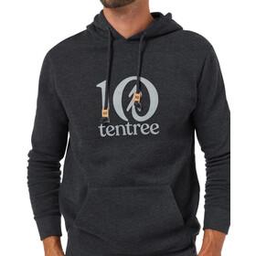 tentree Tentree Logo Classic Hættetrøje Herrer, sort